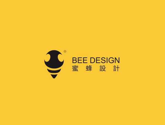 蜜蜂设计logo.png