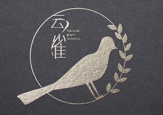 云雀素食饭店logo设计.png